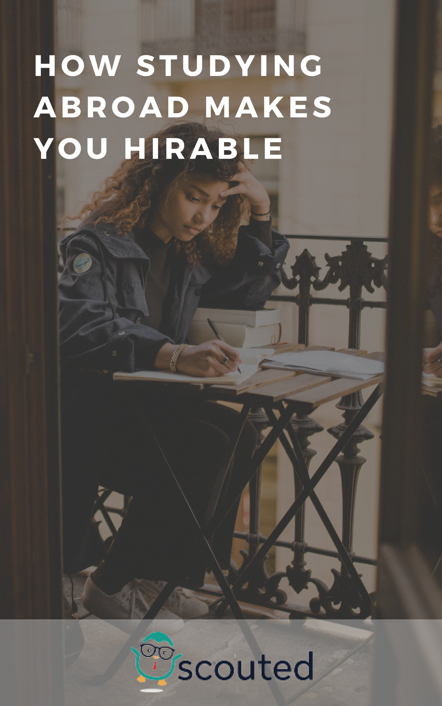 Unlike most things that you likely put on your resume, studying abroad probably isn't something you intentionally realize will make you desirable to employers. The truth is, your employer may not realize it either. It's up to you to reflect on your past experiences and connect them to the tangible skills you have gained.